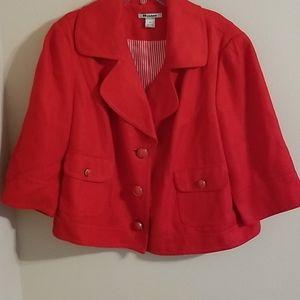 Nygard Plus Size Linen Blend Jacket